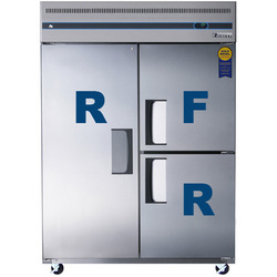 Tri Solid Door Upright Reach-In Refrigerator & Freezer Combo