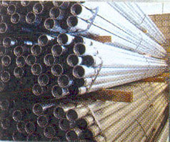 Erw Steel Pipes-Black & Galvanized