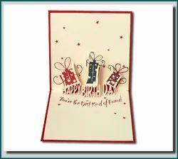 Birthday Gifts-Handmade Pop-Up Greeting Card