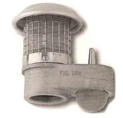 Tank Vent With Alarm