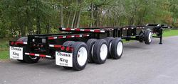 Foot Quad Axle Slider Container