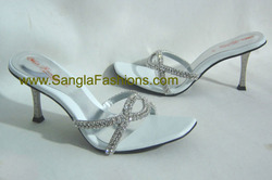 Ladies Jeweled Bridal Shoes