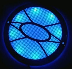 Lighted Speaker Cover