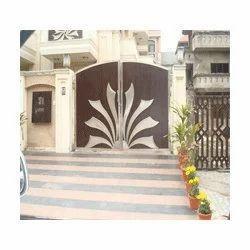 Modern entrance gate design from s f international for International decor gates
