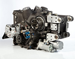 Sequential Sports Car Gearbox