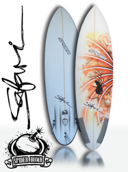 Spider Bomb Surfboard