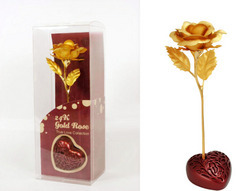 24K Gold Flower Collection