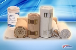 Elastic Bandage Tan Or White With Clips
