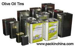 Metal Tins , Olive Oil Tin Can, Tin Can