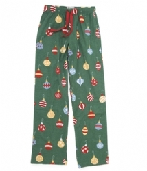 Christmas Ornaments Womens Flannel Pajama Pants