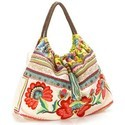 Multicolor Beach Bags