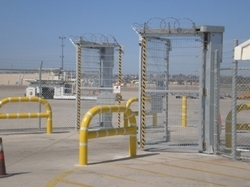 Folding Security Gates
