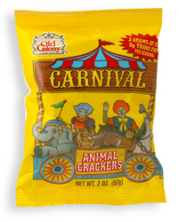 Carnivalanimal crackers from old colony baking co inc for 1 sherwood terrace lake bluff il