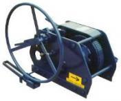 Low Profile Manual Barge Winches