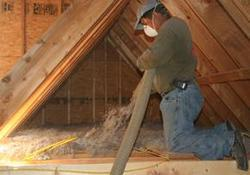 Stabilized Cellulose Insulation.