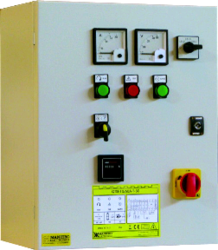 Three Phase Reactance Control Panel