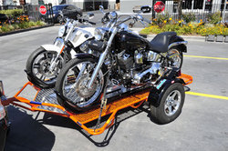 Limited Edition Dual Motorcycle Trailer