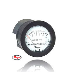 Mini Photohelic Differential Pressure Switch and Gauges