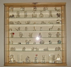 Swarovski Crystals Display Cabinet From Picturebox