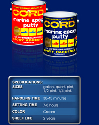 Cord Marine Epoxy Putty