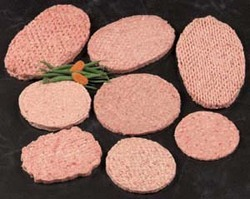 Beef Patties Fortified With Soy