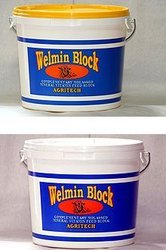 welmin sheep block is the ideal supplement for outdoor or indoor sheep