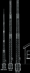 Self-Supporting Crank-Up Towers