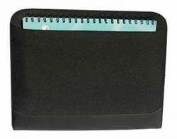 Black 600d Polyester Conference Folder