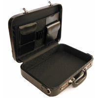 Rennie Grain Cowhide Leather Attache Case