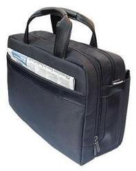 Briefcase With Genuine Calf Leather Trim