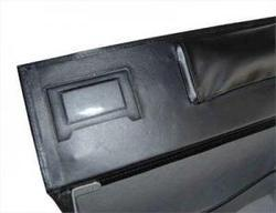 Vinyl Pilot Case With Front Pocket