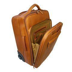 Full Grain Leather Cabin-Size Trolley Case