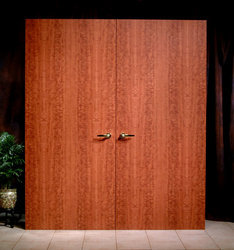 Paired Maiman Mahogany Thermal Fused Doors & Lead Lined Door Custom Lited Door from The Maiman Company Usa ... Pezcame.Com