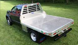 than the weight of steel eby all aluminum flatbed bodies for light and